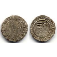 Денарий 1581 KB, Венгрия, Рудольф II