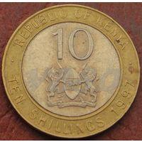 4661:  10 шиллингов 1997 Кения