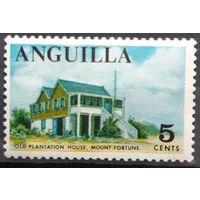 Почтовая марка 1967 -1968 Local Motifs -Ангилья