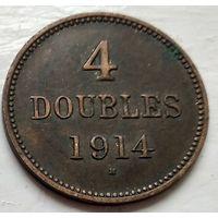 Гернси 4 дубля, 1914 1-9-5