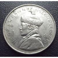 Бутан. 1\2 рупии 1950