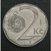 Чехия 2 кроны 1993