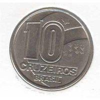 10 Крузейрос 1990 (Бразилия)