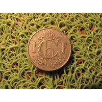1 франк 1953 люксембург *749