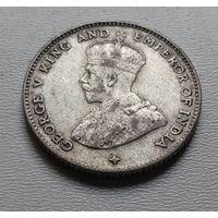 Стрейтс Сетлментс 10 центов 1918 г. (2)