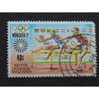 Кения, Уганда, Танзания 1972 г. Спорт.