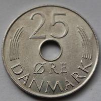 Дания, 25 эре 1977 г