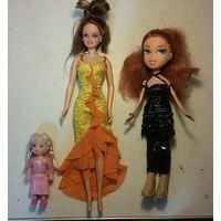 Куклы, три шт, одним лотом.