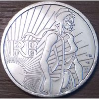 5 евро 2008г. Сеятельница.