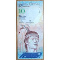 10 боливаров 2013 года (29.10.2013) - Венесуэла - UNC