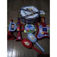 Большой набор инструментов для юного музыканта