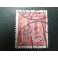 Германия 1920 служебная марка  17
