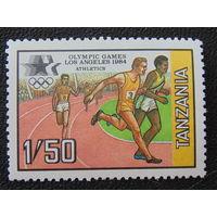 Танзания 1984г. Спорт.