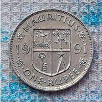 Маврикий 1 рупия 1991 года. Инвестируй выгодно в монеты планеты!