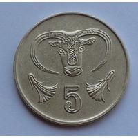 Кипр 5 центов. 1992