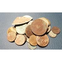 Кучка монет и их остатков