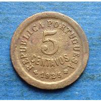 Португалия 5 центаво (сентаво) 1925