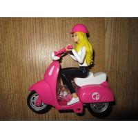 Барби на мотоцикле . Mattel