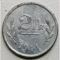 Бельгия 2 франк 1944