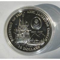 Фиджи, 10 Долларов 1993 , Серебро (98)