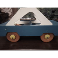 Машинка деревянная ссср