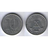 Германия (ГДР) km10 10 пфенниг 1968 год (i01
