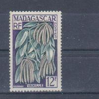 [832] Французские колонии. Мадагаскар 1957. Флора.Ваниль. БЕЗ КЛЕЯ