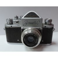 """Фотоаппарат """"Зенит С"""" Номер 60286175. 1960г. Исправный."""