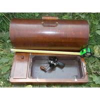 Футляр деревянный от старинной швейной машины, запчасть