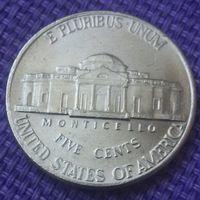 5 центов США ( Перевертыш.)