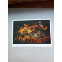 Открытка Голландская живопись  Ян Фейт