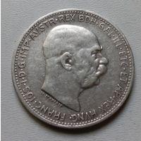 Австрия 1 крона 1913 г.