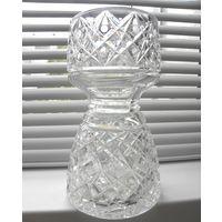 Хрустальная ваза-кубок СССР, 23 см