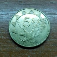 Намибия 5 долларов 1993