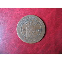 1 цент 1856 год Нидерландская (Голландская) Индия (СОСТОЯНИЕ!!!)