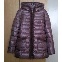 Утеплённая куртка с мехом норки (разм. М/46)