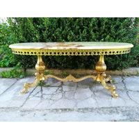 Журнальный столик Elegant OVAL середина 20 века Италия