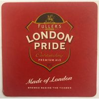 Подставка под пиво Fuller's London Pride /Англия/