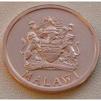 "Малави. 1 тамбала 1995 год KM#33  ""Рыбы Тилапия"""