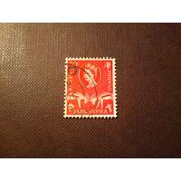 Кения, Уганда, Танганьика 1960 г.Елизавета -II. Газель Томсона .