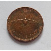 1 цент Канада 1967 год