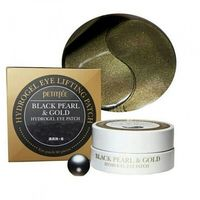 Гидрогелевые патчи под глаза Petitfee Black Pearl&Gold (60 шт)
