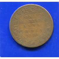 Британская Индия 1/4 анна 1876 , Victoria