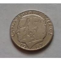 1 крона, Швеция 1987 г.