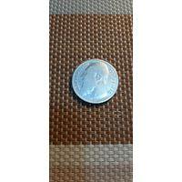 Бельгия 1 франк 1909 Des Belges