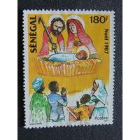 Сенегал 1987г. Рождество.
