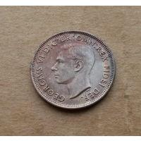 Великобритания, фартинг 1950 г., Георг VI(1936-1952), без титула императора Индии