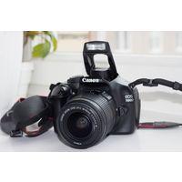 Фотоаппарат Canon 1100D, комплект, сумка, зарядка, батарея, коробка и инструкции