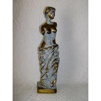 Старенькая статуэтка - Венера Милосская. Бронза.