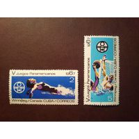 Куба 1967 г.Спорт.Виннипег .Канада.